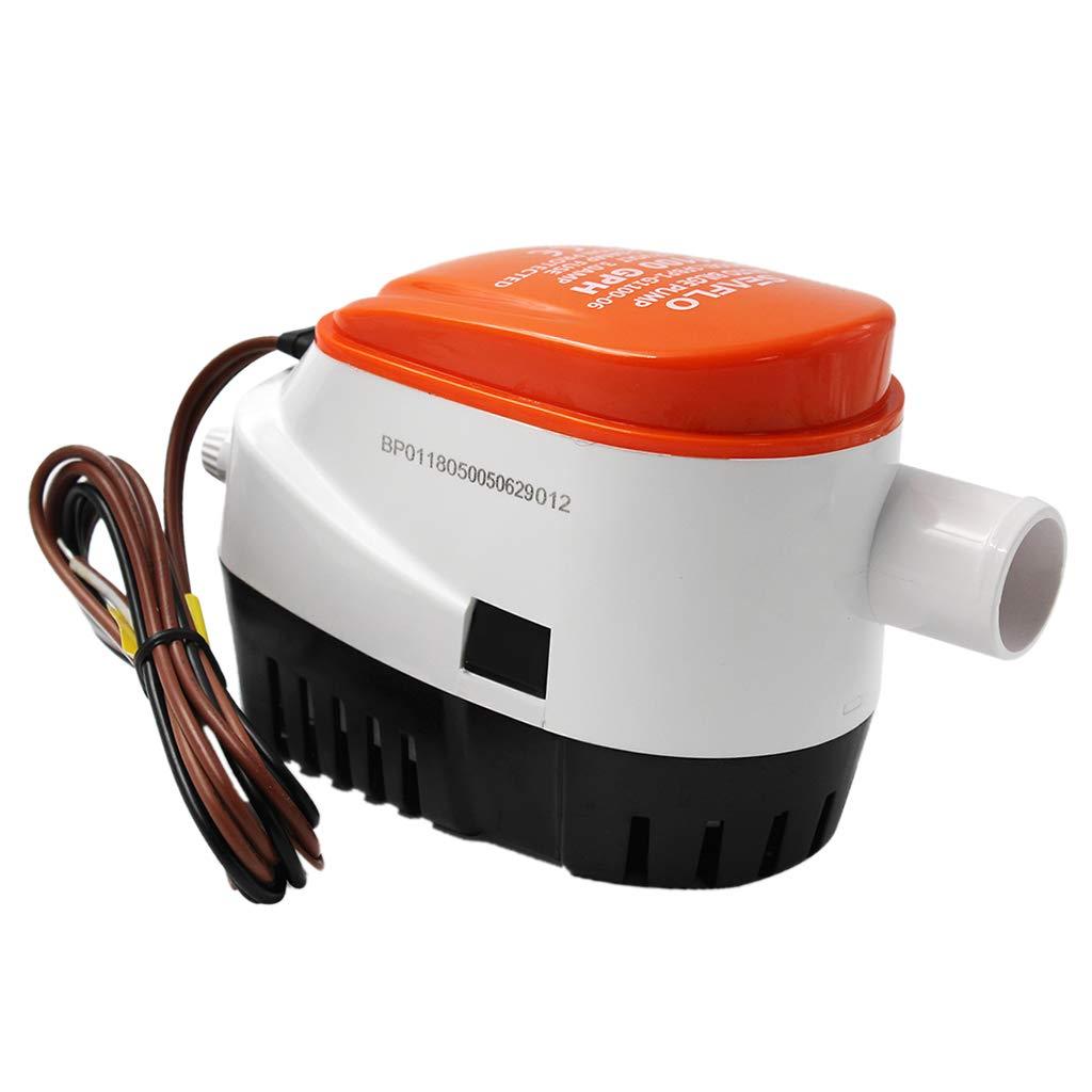 gazechimp Interrupteur /à Flotteur Submersible Pour Pompe /à Eau De Cale Seaflo
