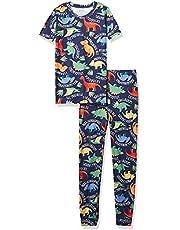 The Children's Place Pijama de algodón Ajustado para bebés y niños pequeños Juego de Pijama para bebés niños