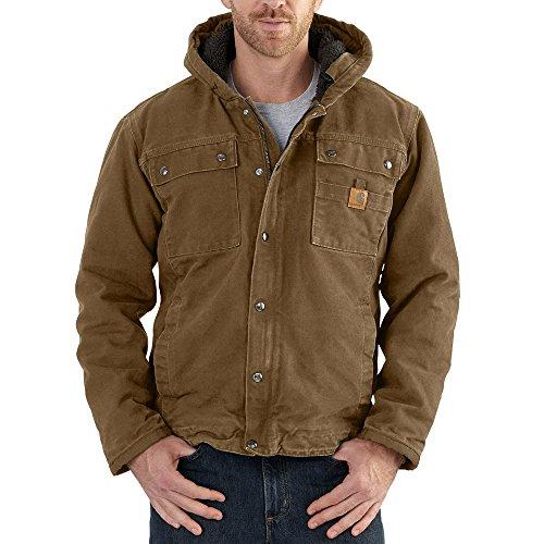 Carhartt Men's Big & Tall Bartlett Jacket, Frontier Brown, Large/Tall by Carhartt