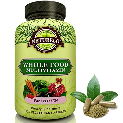 NATURELO Whole Food Multivitamin for Women - #1 - Women Organic Vitamins
