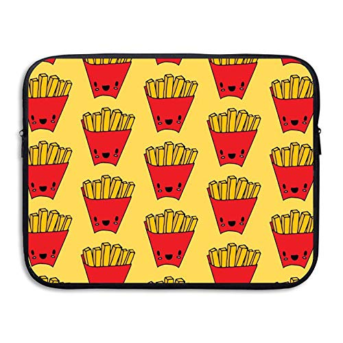 Water-resistant Laptop Bags Red French Fries Ultrabook Briefcase Sleeve Case Bags 15 Inch