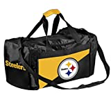 Forever Collectibles Licensed NFL Two Tone Duffle Bags for Pittsburgh Steelers