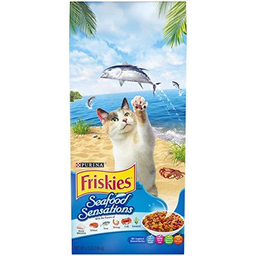 Purina Friskies Seafood Sensations Adult Dry Cat Food - 6.3