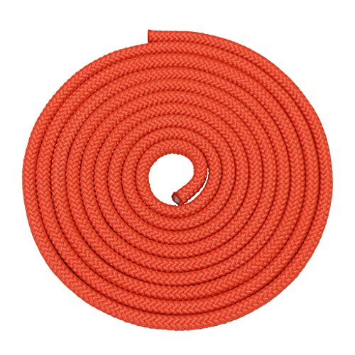 SGT KNOTS Nylon Rope Utility Rope (5/8 inch) Polypropylene Sheath - Moisture Resistant - for Crafts, Cargo, Tie-Downs, Marine, Camping, Swings (300 ft - Orange) by SGT KNOTS (Image #1)