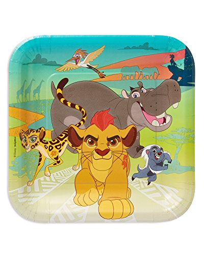 American Greetings Lion Guard Paper Dinner Plates,