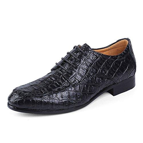 Classics Herren Smart-Formal beiläufige Schnürhalbschuhe Schuh UK GRößE 6 7 8 9 10 11 12 13 14 Schwarz