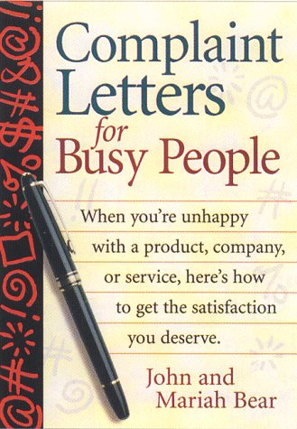 Complaint Letters for Busy People