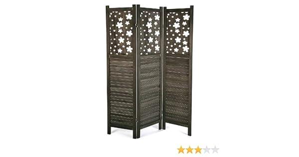 SuskaRegalos - Biombo Madera Tres Paneles - 170 x 120cm: Amazon.es ...