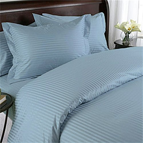 Easy to Care Luxurious & Hypoallergenic Sheet Set made from Fine Percale 400 TC Egyptian Cotton Tailored to fit max 11