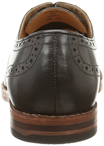 Stringate Uomo Talbot Scarpe Black Hudson Nero vqH1Bw7