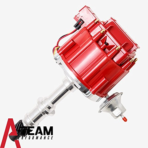 A-Team Performance Pontiac Small Block/Big Block 65K COIL HEI Complete Distributor 301 326 350 389 400 421 428 455 1-Wire - Oakley Removal Lens
