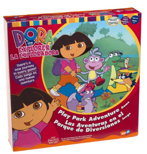 The Explorer Board Game Dora (Dora the Explorer Play Park Adventure Game)
