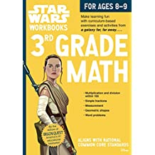 Star Wars Workbook: 3rd Grade Math (Star Wars Workbooks)