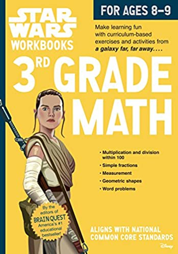 math worksheet : star wars workbook 3rd grade math star wars workbooks  workman  : 3rd Grade Workbooks
