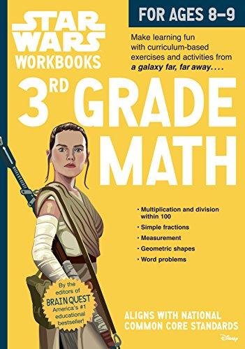 Star Wars Workbook: 3rd Grade Math (Star Wars (Multiplication Math Puzzles)