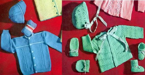 (Beautiful Baby Knitting Patterns)