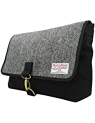 Harris Tweed Mens Authentic Premium Shoulder Strap Despatch Bag