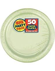 Десертная тарелка Amscan Big Party Pack