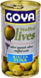 Goya Foods Manzanilla Olives Stuffed with