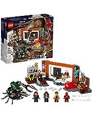 LEGO 76185 Marvel Spider-Man bij de Sanctum Uitvalsbasis Bouwspeelgoed voor Kinderen van 7+ met Bug Monster & Doctor Strange Minifiguren
