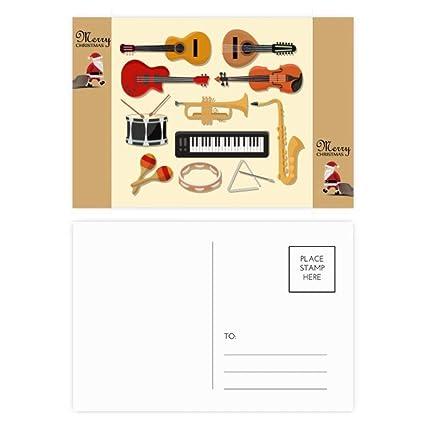 20 tarjetas de agradecimiento para guitarra eléctrica de ...