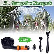 Trampoline Sprinkler, Trampoline Water Sprinklers, Summer Water Park Fun Trampoline Accessories Games Toy Stuf