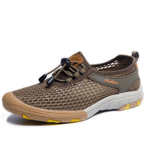 été respirant chaussures de maille pour homme/Creuses chaussures de sport de maille/Porter des chaussures de plein air légers C pNuDpi
