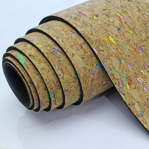 YOOMAT Hohe qualität Bunte Kork TPE Yoga Matte umweltfreundliche Rutschfeste 183 cm  61 cm  5mm Sport Pads Yoga Fitness übung matten Pilates matten