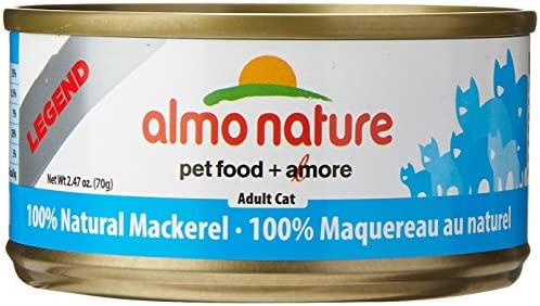 Almo Nature Mackerel Food 24 Cans Per Case