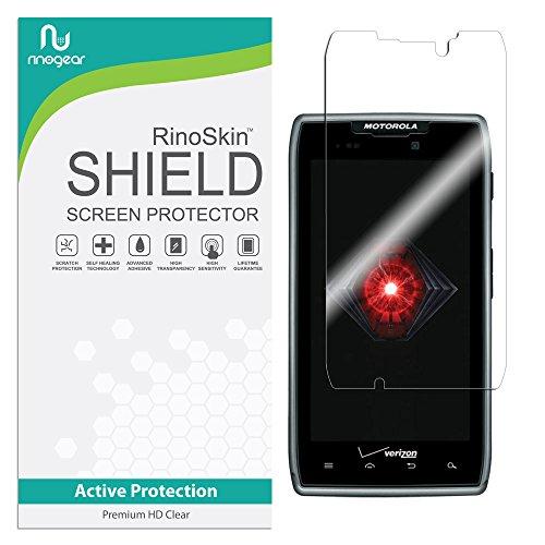 Motorola Droid RAZR Maxx Screen Protector RinoGear Case Friendly Screen Protector for Motorola Droid RAZR Maxx Accessory Full Coverage Clear - Accessory Razr