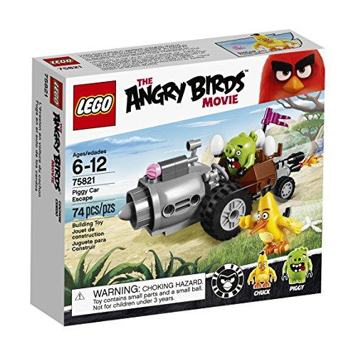 LEGO Angry Birds 75821 Piggy Car Escape Building Kit (74 Piece) by LEGO