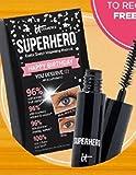 It Cosmetics Superhero Elastic Stretch Volumizing Mascara Mini Travel Size .169 Ounce