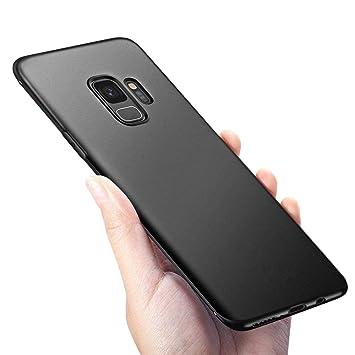 omitium Funda Samsung Galaxy S9 Silicona Carcasa Galaxy S9 Caso Ultra Fina Anti-Rasguño y Resistente Dactilares TPU Bumper Case Protectora Funda para ...