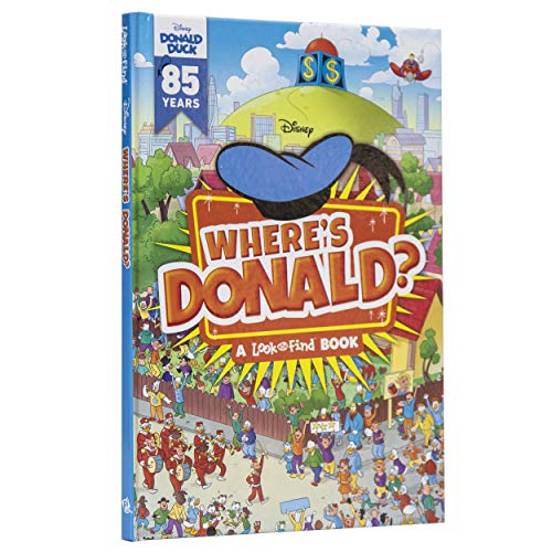Disney Donald Duck – Where's Donald? A Look and Find Book – PI Kids
