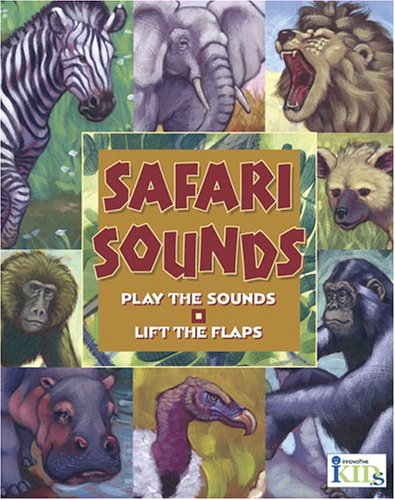 Hear and There Book: Safari Sounds (Here and There) by Innovative Kids (Image #2)