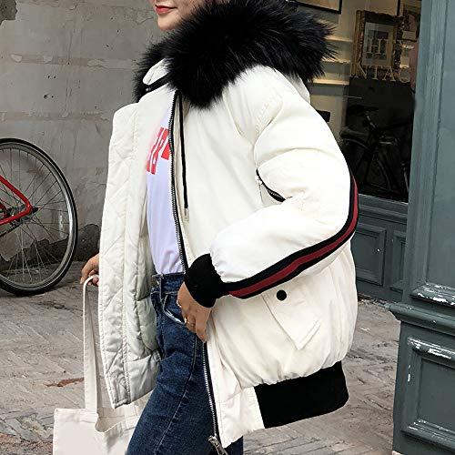 Femme Y56 Noir Manteau Manteau Weiß Y56 nUwwqPS70
