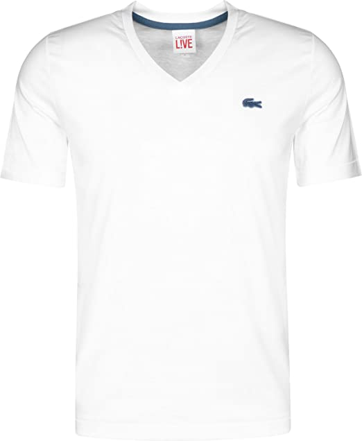 Lacoste L!VE Camiseta White