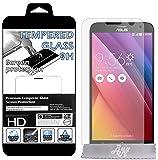 """Film Protecteur d'écran en VERRE TREMPE pour Asus ZenFone 2 (Z5551ML/ZE550ML) 5.5"""" Ultra Transparent Ultra Résistant INRAYABLE INVISIBLE"""