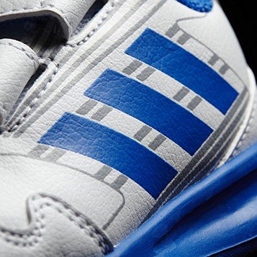 Adidas altarun CF I–Chaussures de deportepara enfants, Blanc–(Ftwbla/bleu/grimed), -26