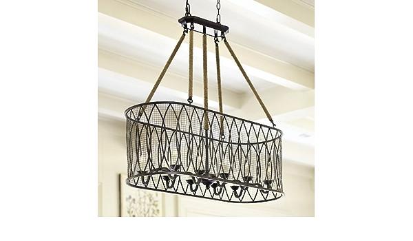 Denley 10 Light Pendant Chandelier Ballard Designs Amazon Ca Electronics