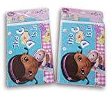 Doc McStuffins Party Cards - 16 Invitations and 16 Thank You Cards