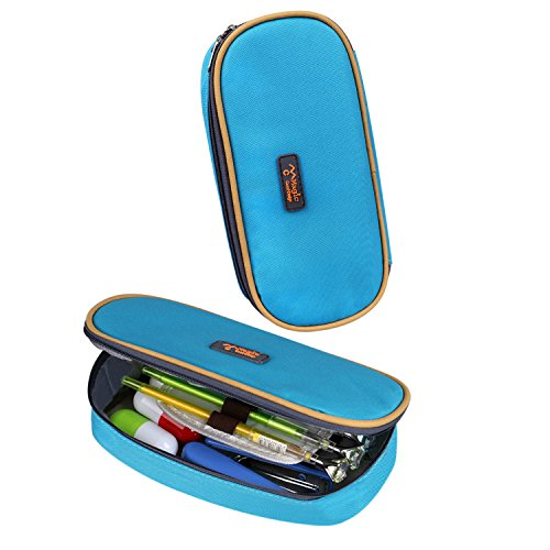 Cool Pencil Case, KinHom Portable Large Capacity Cute Watercolor Pen Bag  Magic Multifunction Cosmetic Stationery Pouch Organizer for Kids in School  with ...