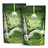 x oz day programs natural - 2 Pack uVernal WellBeing Organic Matcha Green Tea Powder - 100% Pure Matcha (No Sugar Added - Unsweetened Pure Green Tea - No Coloring Added Like Others) 4 oz
