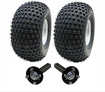 ATV juego de remolque - remolque quad ruedas -Wanda + Steelpress Producción concentrador / ramal (n enganche), 310kg 22x11-8: Amazon.es: Coche y moto