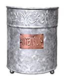Best Holder With Coppers - Autumn Alley Farmhouse Galvanized Large Kitchen Utensil Holder Review