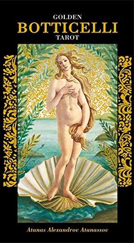 Golden Tarot of Botticelli: 78 full colour Tarot Cards with Gold Foil Impressions Atanas Atanassov Lo Scarabeo EX143 Mind