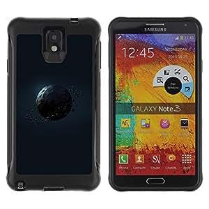 Suave TPU GEL Carcasa Funda Silicona Blando Estuche Caso de protección (para) Samsung Note 3 / CECELL Phone case / / Polygon Planet /