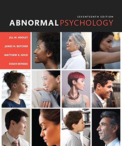 Abnormal Psychology (17th Edition) cover