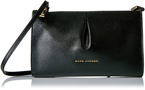 Crossbody Mink Jacobs Marc Saffiano Small Bicolor Black zI8qY4