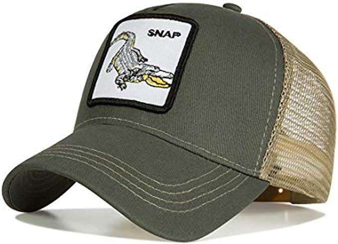 Ss - Gorra de béisbol - para hombre cocodrilo Talla única: Amazon ...